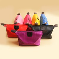 bg cosmetics - New Fashion Lady Travel Make Up Portable Cosmetic Pouch Bag Casual Makeup Bags Colors Drop Shipping BG