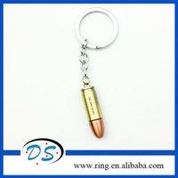 bullet keychain - New Design Assault Weapon Bullet Keychain Cross Fire Machine Bullet Keychain For Christmas Gift