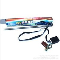 Cheap Wholesale-Colorful LED Knight Rider 5050 Rider lights new colorful lights Strobe 147 scanner models free shipping