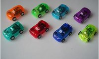 Cheap 50pcs Colorful Pull Back Mini Car Toys 8 color Children Racing Car Toys Mini Cars Police car Fire Truck Figure size