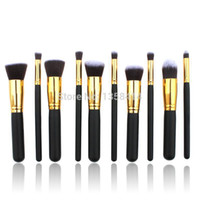 benefit makeup wholesale - 10pcs Professional Brushes for Makeup Foundation tools Korean Cosmetics hand to Make up brush Set benefit face for beauty women