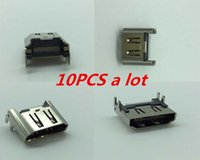 pc motherboard - 10 HDMI Port Socket Interface Connector Repair Parts Motherboard Port Jack Connector for Playstation Play Station PS4 ps