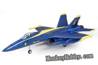 rc plane ducted fan - FMS RC plane F18 Hornet mm Electric Ducted Fan RTF Jet ghz Radio System blue