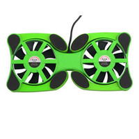Wholesale 1pc New USB Mini Octopus Laptop Notebook Fan Cooler Cooling Pad Folding Coller Fan