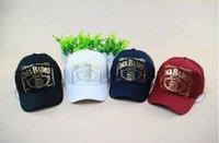 badass snapback hats - 2016 Korean Gilding Ball Caps Cotton Snapback Hat Outdoor Necessary JACK BADASS Pattern Many Colors