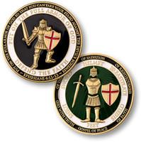 armor coin - NEW Put on the Armor of God Defend the Faith Challenge Coin