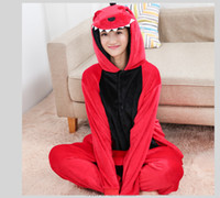animal footie pajamas - Fashion Unisex Pajama Sets Cute Cartoon Sleepwear Women Pajamas Flannel Adult Coral footie Fleece Hooded Animal Pajama
