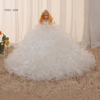 Wholesale Handmade high grade wedding gift toy doll girl Bobbi wedding gift indoor decorations