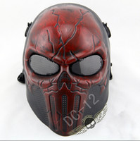 bb cosplay - Wire Mesh FRP Deadpool Tactical Mask BB Bulletproof Airsoft Paintball Field CS Game Mask Movie Prop Hallow Party Cosplay Masks