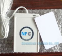 acs contactless reader - Access Control ACS ACR122U USB NFC Tags RFID Contactless Smart Card Reader amp Writer SDK CD