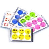 Wholesale 1603 Smile Face Mosquito Repellent Stickers Mosquito Repellent Patches Pack Pack