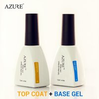 azure nail polish - Nails Tools Nail Gel Brand New Azure Diamond Nail Gel Top Coat Top it off Base Coat Foundation for UV
