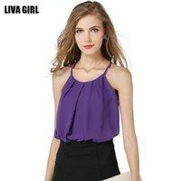 Cheap Blusas Feminino 2015 Sexy Ladies Lu Was Thin Collarbone Lace Bralette Casual Sexy Sling Vest Solid Sleeveless Blusas Feminino