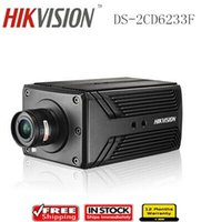 Wholesale HIKVISION DS CD6233F MP CCD ICR Day night Outdoor Bullet Security CCTV PTZ Alarm IP Camera
