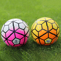 Wholesale 2015 New A Premier league soccer ball league football Anti slip granules ball PU size football balls