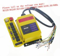Wholesale 2 Speed Transmitter Control Hoist Crane Remote Control System Choose Voltage order lt no track