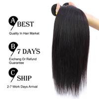 human hair premium now - 4pcs A Brazilian Virgin Hair Straight Unprocessed Brazilian Remy Hair Bundles Milky Way Human Hair Premium Now Hair