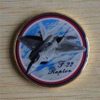 air force raptor - F RAPTOR US AIR FORCE CHALLENGE COIN AFB PIN STEALTH FIGHTER PILOT WING WOW Coin