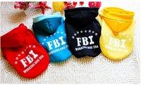 Wholesale 004 Winter Warm Pet Dog Clothes chihuahua dachshund FBI Pet Coat Autumn Fashion Black clothing Pets Fleece