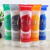 bath salts - Aromatic Bath Salt Whitening Moist Body Scrub Milk Rose Cucumber Sea Horse Propolis Function to Choose Scrub g