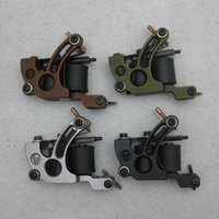 Wholesale 4PCS New Arrive Alloy Wrap Coil mm Tattoo Machine Gun For Tattoo Kit Power Set Supply GAM14