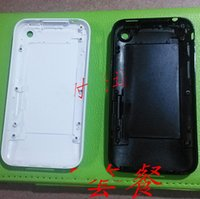 3gs 16gb - 100 New Housing Back Battery Door Cover Case with logo for iphone G GS gb gb gb Replacement WHITE BLACK
