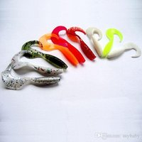 Wholesale fishing lures soft lures Fishing Tackle spinner bait minnow mix color