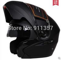 best anti fog - New best quality Tanke motorcycle helmet anti fog doube lens moto helmet flip up off road full face helmet