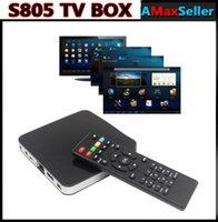 Cheap S805 4 CPU TV Box Best Android 4.4 Quad Core tv box