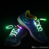 Wholesale 1000pc pair Factory price Latest model LED Flashing shoelace light up shoe laces Laser Shoelaces color to choose Z107