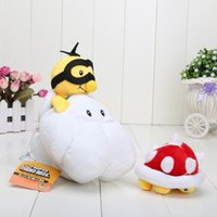 mario plush - 7 quot CM Super Mario Bros Lakitu Spiny Plush Toy Mario Figure Toy