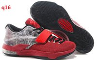 Cheap COOL!! KD7 Shoes 2015 Basketball Shoes Kevin Durant VII KD 7 Men Sneakers Top Quality Outdoor Shoes Sports Shoes Running Shoes Size 7-12