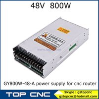 Wholesale ajustable DC power supply A V for cnc router GY800W A