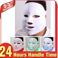 ac instruments - 2015 Mychway Latest Design LED Photon Facial Mask Wrinkle Acne Removal Skin Care Anti aging Beauty Instrument