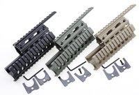 green sand - AK Tactical Quad Rails Y0020 Hunting Shooting Tactical RIS Quad Rail Rail mount Black Sand Green