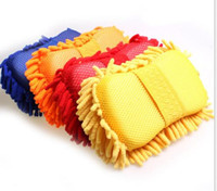 Wholesale 30pcs Microfiber Snow Neil fiber high density car wash mitt car wash gloves towel