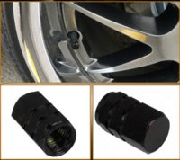 atv tire wheels - 4Pcs Set Aluminum Alloy Wheel Tire Air Rim Valve Stem Caps For Car Truck ATV Bicycle Motorcycle Wheel Rim Black M9089