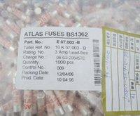 atlas e - Per Atlas mm x mm V A BS1362 Ceramic Fuse Lead free E B