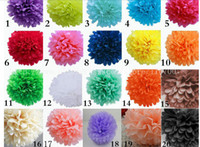 paper pom poms - 10pcs inches cm tissue paper pom poms paper flowers ball wedding decoration birthday parties
