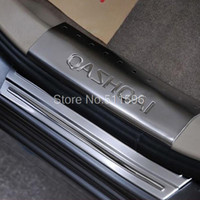 Wholesale Qashqai Dualis First Generation Stainless Scuff Plate Door Sill Car trim