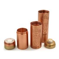Wholesale Akuma Mod Magnetic Switch Copper Tube for Battery Akuma Mod Clone Akuma V2 Mod Copper Brass Akuma