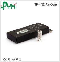 air cooling coil - Genuine Smok Smooth Air Flow Cooler Vapor Patented Ni200 Dual Coil Head TF N2 Standard Air Core For TFV4 Mini Tanks B