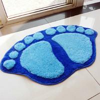 big bath rugs - Bath mat cmx60cm door mats bathroom big feet bath rug