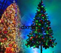Wholesale 20m color AC110 V led string light leds wedding partying xmas christmas tree decoration lights led christmas light