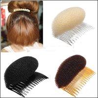 beehive hair - LaniGood New Ladies Hair Stylish Volume Bouffant Beehive Shaped Interposing Comb