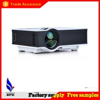Wholesale Mini portable Projector UC40 with USB HDMI For Home Theater Beamer Multimedia Projector