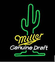 beer advertising signs - Hot Miller Genuine Draft Neon Sign Commercial Handcrafted Custom Real Glass Tube Neon Beer Bar KTV Club Advertise Display Neon Signs quot X14 quot