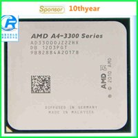 Wholesale A4 A4 original desktop CPU AMD A4 G M FM1 pin Dual Core