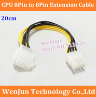 atx power cable extension - DHL NEW ATX supply Pin Male to Pin Female CPU Power extension cable AWG Wire order lt no track