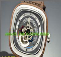 Wholesale Luxury iginal Box Mens SevenFriday Canadian Black Walnut Wood P3 Automatic Special Edition Watch